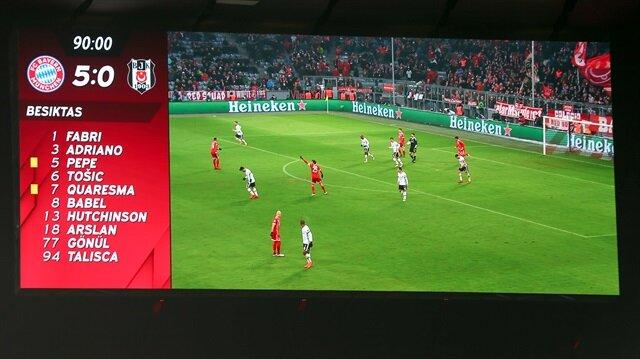 Bayern-Beşiktaş.