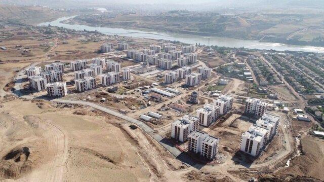 Vatandaşlar için 9 bin 215 konut inşa ediliyor