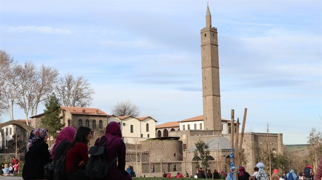 Diyarbakır'da bu yıl 1 milyon turistin ağırlanması hedefleniyor.