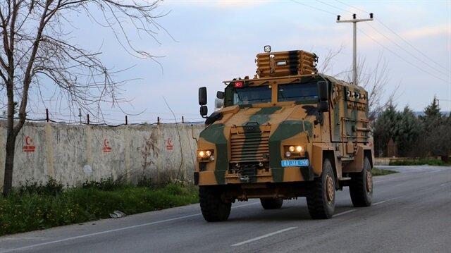 TSK'dan Suriye sınırına askeri araç takviyesi