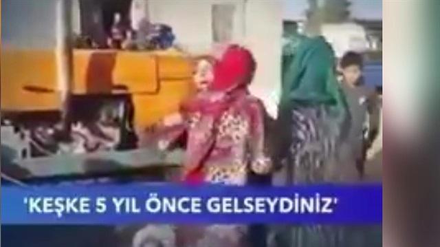 Afrinli kadından Mehmetçiğe: Keşke 5 yıl önce gelseydiniz