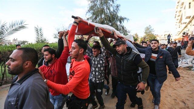 Ebu Reyale'nin 18 gündür alıkonulan cansız bedeni, Beyt Hanun (Erez) Sınır Kapısı'ndan Gazze kentindeki Şifa hastanesine nakledildi.