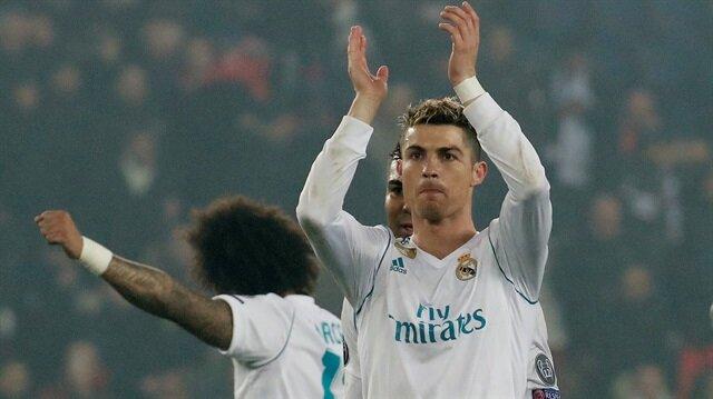 Ronaldo, bu sezon ligde forma giydiği 22 maçta 18 gol atarken 4 asist yaptı.