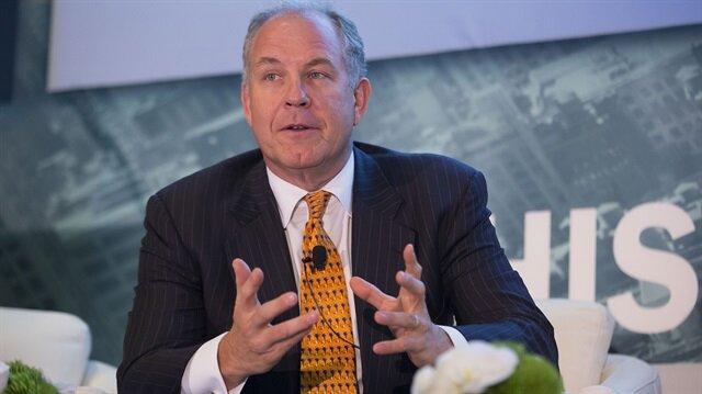 General Electric'in genişlemeden sorumlu başkanı ve CEO'su Alex Dimitrief.