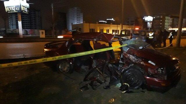 Son dakika... Ankara Başkent'te trafik kazası: 2 ölü, 2 yaralı