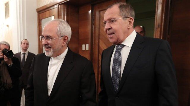 Arşiv: İran Dışişleri Bakanı Zarif ile Rusya Dışişleri Bakanı Lavrov