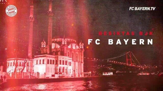 Bayern Münih'in Beşiktaş maçı tanıtımı büyük beğeni topladı
