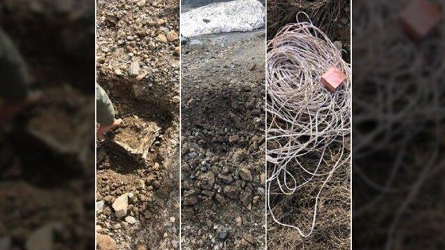 Hakkari'deki terör operasyonunda 550 kilogram patlayıcı imha edildi