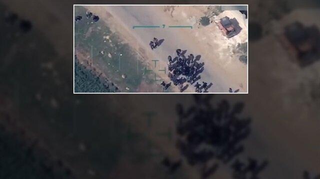 Terör örgütü sivillerin Afrin'den çıkışını hendeklerle engelliyor