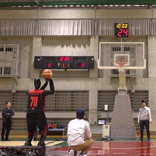 Toyota basketbol oynayan robot geliştirdi