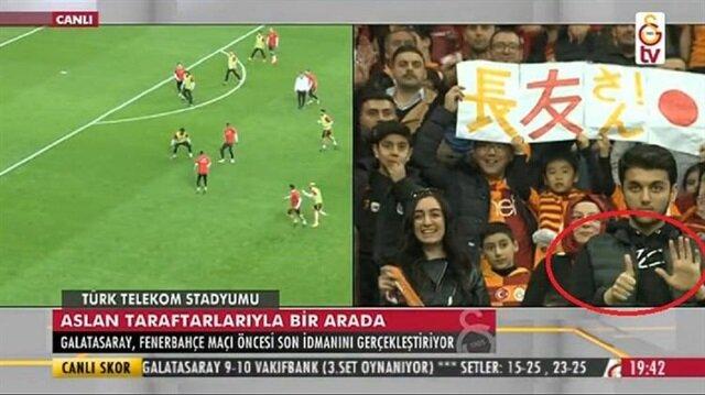 GS TV canlı yayınında herkesi şoke eden hareket!