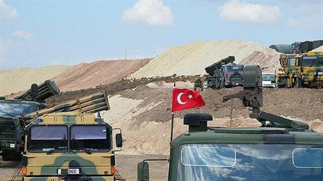 قافلة للجيش التركي تصل