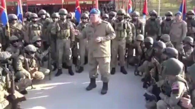 Komandoların Afrin'e uğurlanması paylaşım rekorları kırıyor!