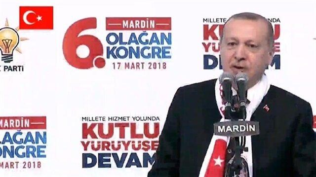 أردوغان: أوشكنا على دخول عفرين، وسنزف لكم البشرى في أي لحظة
