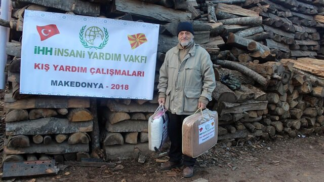 Turkish agency sends winter aid to Balkans