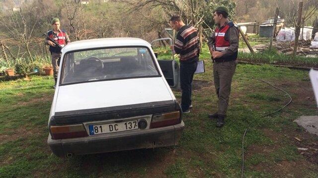 Düzce'de hırsız çaldığı aracın yakıtı bitince başka araç çaldı