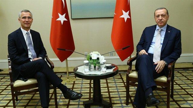 Erdoğan talks to NATO chief, Ukrainian president