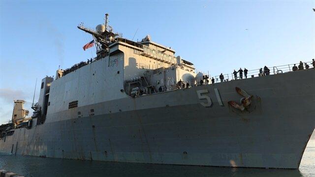 ABD savaş gemisi ilk kez Batum'a geldi