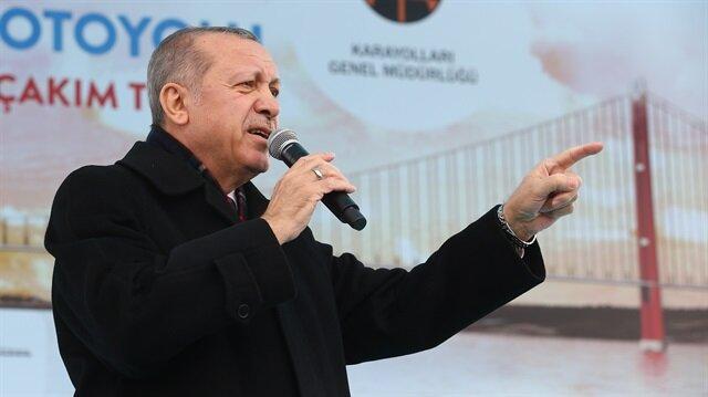 أردوغان: لقنّا درساً للذين يحاولون تأسيس دولة إرهابية على حدودنا