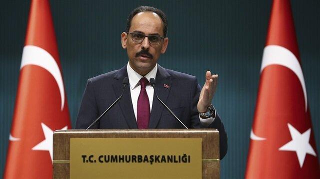 متحدث الرئاسة: تركيا ستمضي قدما في طريق الأمن والاستقرار