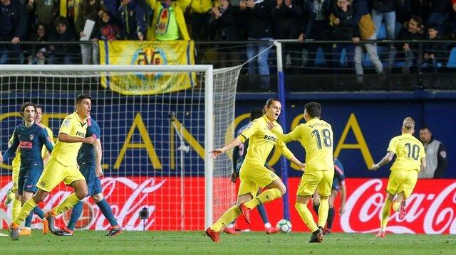 Enes Ünal golleriyle Atletico Madrid'i yıktı
