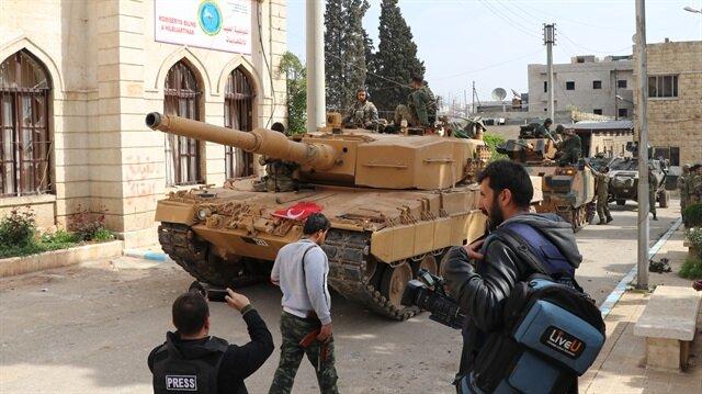 Mehmetçik-ÖSO Afrin'e böyle girdi: İşte '18 Mart' ilerleyişinin detayları