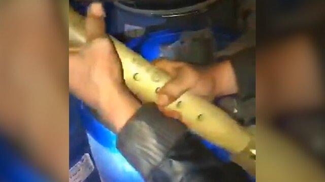PKK'nın Afrin'deki milyon dolarlık devasa deposu ele geçirildi