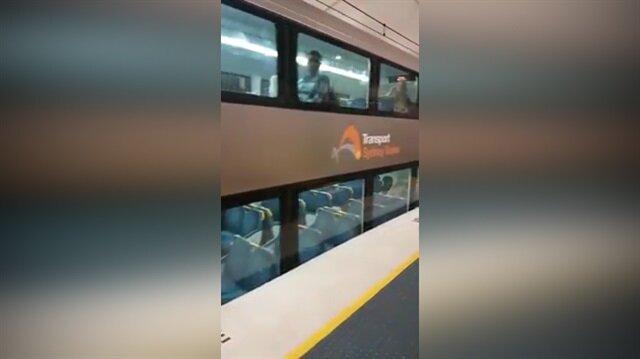 Yeni metro görenleri şoke etti!