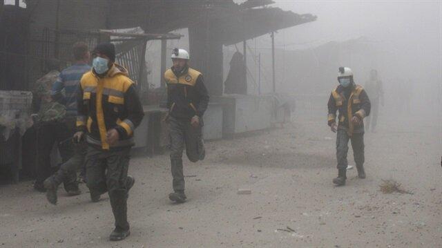 مقتل 25 مدنيا في يومين جراء هجمات النظام على الغوطة اللشرقية