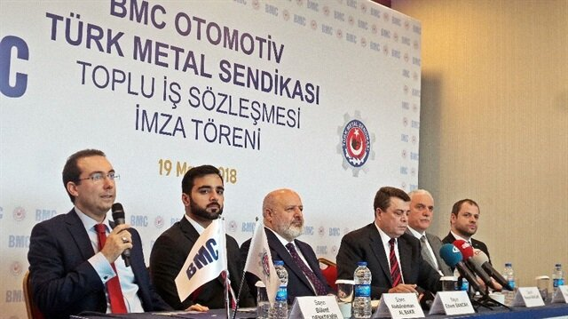 Turkish vehicle manufacturer BMC aims for $1B revenue