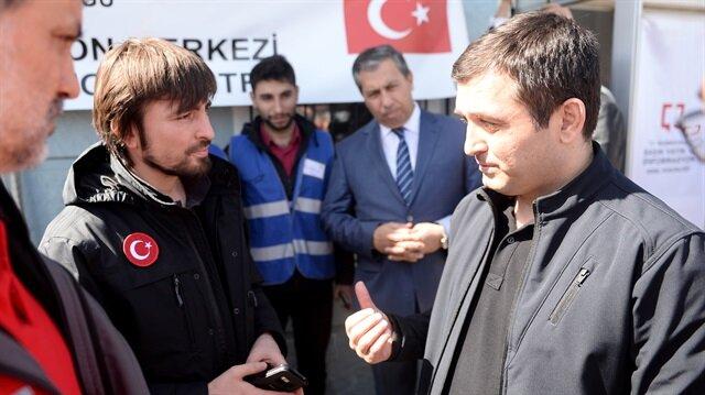"""""""الطوارئ التركية"""" تعلن توزيع المساعدات في عفرين إبتداءا من اليوم"""
