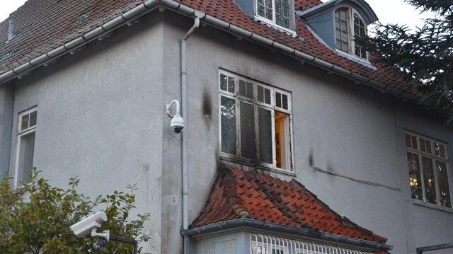 بقنابل المولوتوف.. إرهابيّون يعتدون على السفارة التركية بالدنمارك