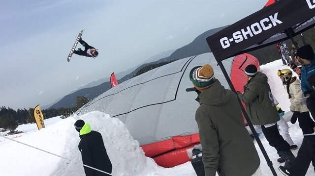 Kartalkaya Snowboard Yarış Okulu