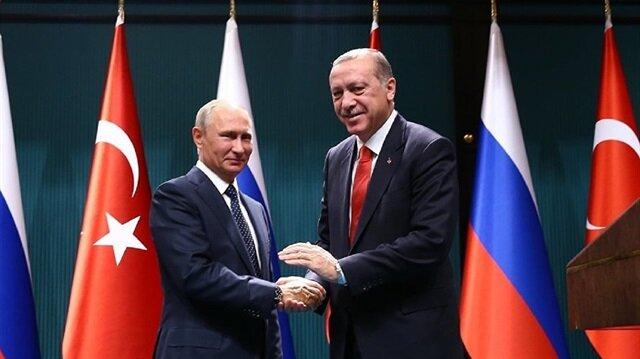 Erdoğan congratulates Putin over re-election