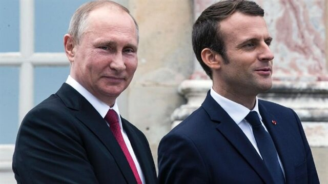 Macron wishes Russia success after Putin's re-election