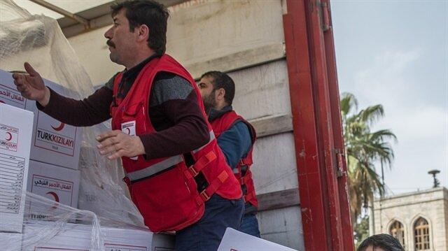 بعد تحريرها من الإرهاب.. المساعدات الإنسانية التركية تنطلق نحو عفرين
