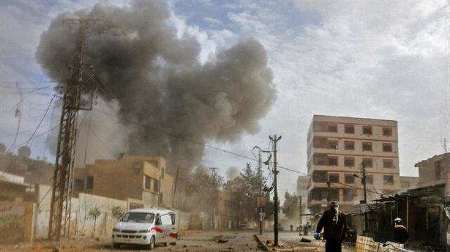 نظام الأسد وروسيا متعاهدان على استمرار المجازر بالغوطة.. 19 مدنيًّا