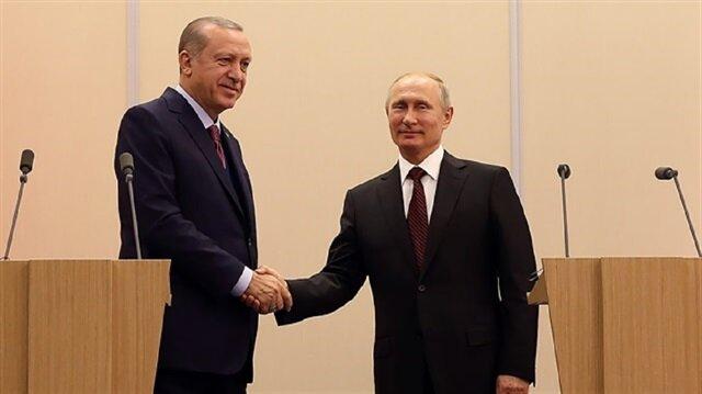 أردوغان وبوتين يبحثان هاتفيا العلاقات الثنائية والملف السوري