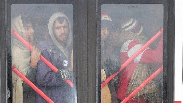 Seven undocumented migrants held in Turkey