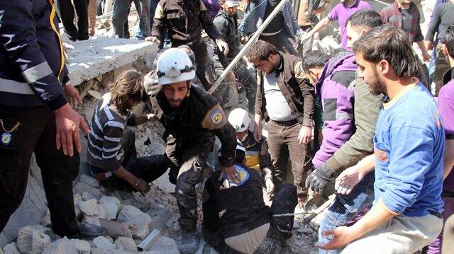 Assad airstrike in northwest Syria kills 20, including 16 children
