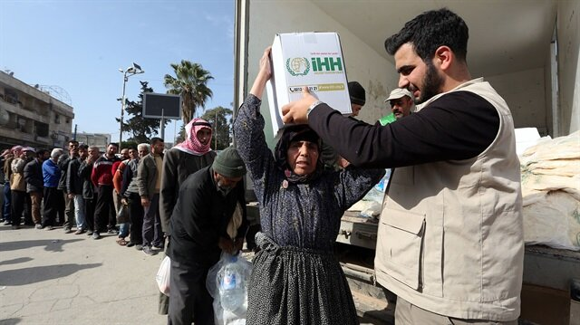 Turkish agency sends aid to 1,500 families in NW Syria