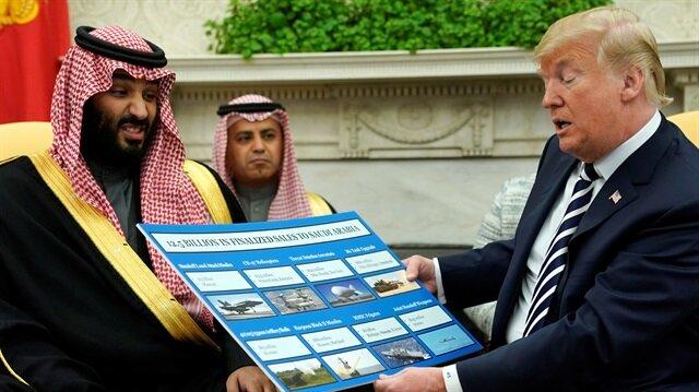 Trump touts 'great friendship' with Saudi Arabia