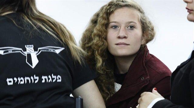 """""""Filistin'in cesur kızı""""nın davası halka ve adalete kapalı"""
