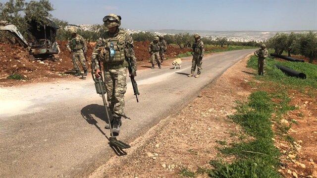 Afrin'de teröristlerce tuzaklanan EYP patladı: 3 şehit