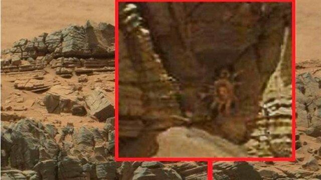 Bu görüntü Mars'ta yaşam tartışmalarını yeniden alevlendirdi