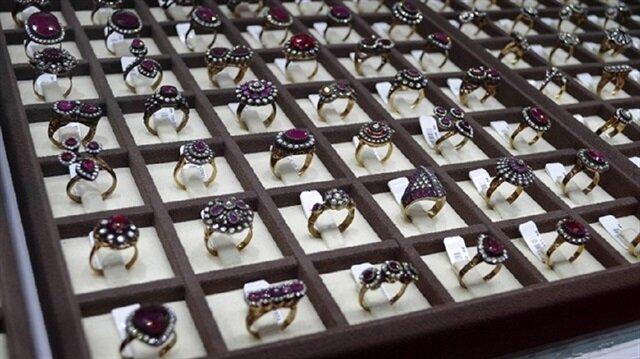 المجوهرات تتصدر قائمة الصادرات التركية الأغلى ثمنا خلال 2017