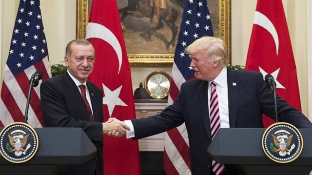 Erdoğan, Trump discuss bilateral ties, regional developments