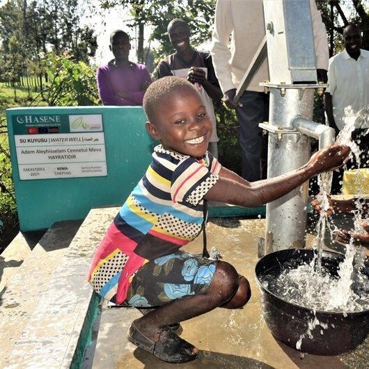 'Bugüne kadar 3 bin 780 su kuyusu açtık'