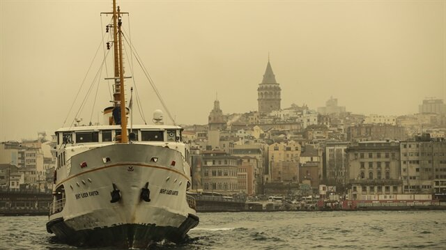 Dust transportation in Istanbul
