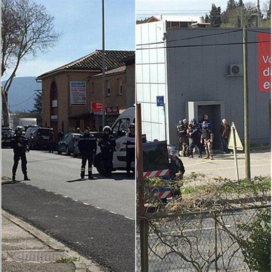 Fransa'da&nbsp;</p><p>rehine krizi